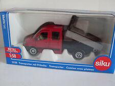 Transporteur avec pick-up, siku super 1:50, art.3538, nouveauté 07/2013