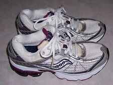 SAUCONY GRID 15064-5 Pink Silver White Mesh Sneakers Womens Athletic Shoes 7.5M