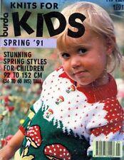 Knitting PATTERNS Childrens Sweaters Burda Sports Animals Fair Isle Aran