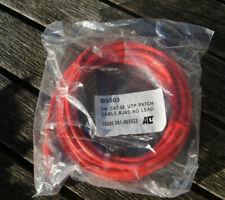 1 Stück AC 3m Patchkabel CAT5E UTP PATCH RED OVP neu UTP network cable