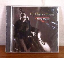 SEALED Jerry Cherry Up Cherry Street CD Victoria RARE PRIVATE PRESS JAZZ bass