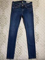 🎼Rag & Bone Lightweight Stretch Denim Skinny Jeans in Woodford Women's 27 GUC