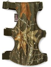 Carol Target Archery Fabric Arm Guard Fag202Camo Men/Women/Youth (19cm x 9cm)