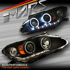 JDM Black LED DRL & CCFL Angel Eyes Projector Head Lights for Honda S2000 AP1