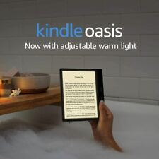 Kindle Oasis – Now with adjustable warm light – Wi-Fi + Free Cellular Connectivi