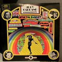 "JUDY GARLAND - Concert Double Album (w/Photo & Book) - 12"" Vinyl Record LP - VG"
