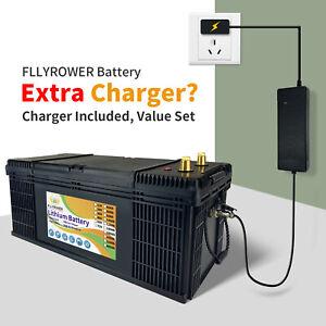 LiFePO4 Lithium Batterie 12V 200Ah 2,56kWh Solar Elektro Boot Akku BMS Wohnmobil