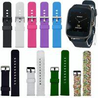 Sportivo Silicone Orologio Cinturino Fibbia Per ASUS ZenWatch 2 Smart Watch 22mm
