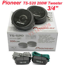 Pioneer TS-S20 200W High Power in-Car Loud 3/4'' Dome Tweeter Speaker Systems