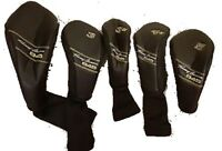 Tommy Armour 845 Head Covers Black Golf Club (3H, 4H, 5, and Driver Available)
