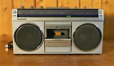 Vintage PANASONIC RX-4940 Portable AM/FM Stereo Cassette Recorder Player BOOMBOX