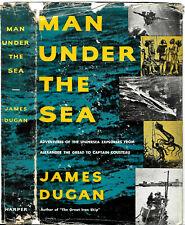 James Dugan Jacques Cousteau Sea Marine Ocean Diving Undersea Explore History