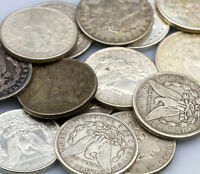 1878-1904 Random Date Morgan 90% Silver Dollar $1 Coin - VG-XF Grades SKU29456