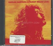 Carlos Santana & Buddy Miles! Live! by Buddy Miles / Carlos Santana (CD, 1972)