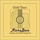 Goldtone MBS - Jeu cordes pour Micro basse