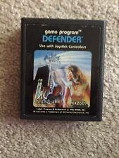 Defender Atari 2600 1981 Atari Picture Label CX-2609