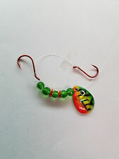five Northland Holographic Baitfish #3CFT blade worm harnesses