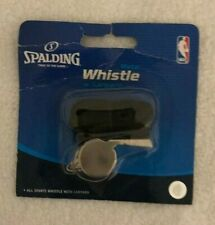 Spalding Whistle with Black Lanyard Nba Basketball - New