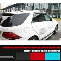 Mercedes Benz W140 92-99 S600 S320 Window Visor Sun Rain Guard Weather Shield
