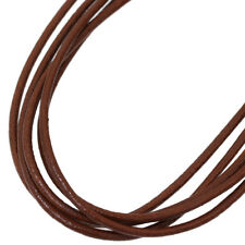 BVLGARI BULGARI Brown Leather Clasp Necklace Choker in 18K Yellow Gold D4974