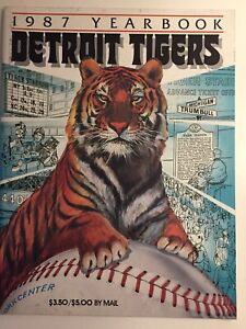 1987 Detroit Tigers Yearbook Unopened Condition