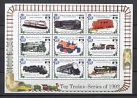27616) Sierra Leone 1992 MNH New Trains Ms - Mf