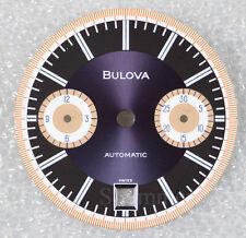 BULOVA Quadrante dial cadran esfera SINGER automatic cronografo vintage Buren