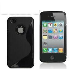 Apple iPhone 5 / 5S Hülle Etui Cover Schutz Hülle Back Cover schwarz