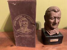 New ListingVintage John Wayne Kentucky Bourbon Decanter with box