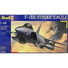 Revell 1:48 Scale F-15E Strike Eagle & Bombs Model Aircraft Kit - RR04891