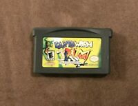 Earthworm Jim Nintendo Game Boy Advance GBA ~ Works Great! Fast Ship! Authentic!