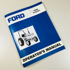 FORD NEW HOLLAND 1920 TRACTOR OPERATORS OWNERS MANUAL