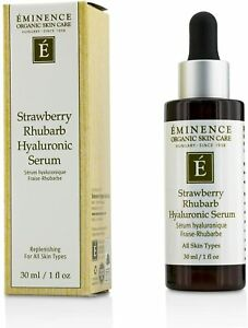Eminence Strawberry Rhubarb Hyaluronic Serum 1oz