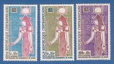 Repubblica Centroafricana 1964 Nubian Monuments Monumenti archeologia MNH**nuovi