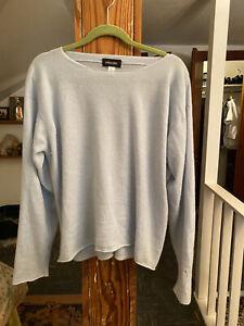 Eskandar Light Blue Cashmere Sweater