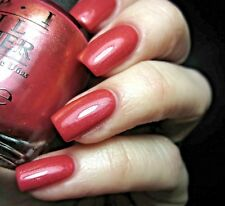 OPI Hawaii GO WITH THE LAVA FLOW Golden Red Coral Cream Nail Polish Lacquer H69