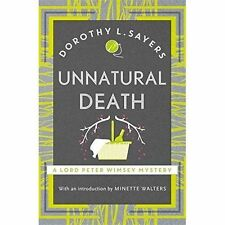 Unnatural Death: Lord Peter Wimsey Book 3 by Dorothy L. Sayers (Paperback, 1982)