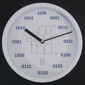 Geek Clock 0010 Unique Gift Custom Design