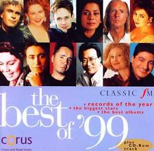 BEST OF 99: ALBUMS OF THE YEAR - CLASSIC FM CD / VENGEROV BOSTRIDGE KIRKBY etc