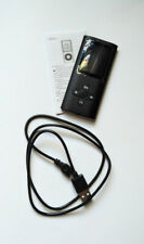 Black MP3 Music Player Lithium Battery USB 2.0 Cord + Sandisk Ultra 32GB SD Card