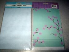 Scrapbooking scrapbook  *ACCENT PAPER*   lot of 2 packages  SEALED`