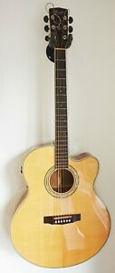 Cort CJ-5X Jumbo Used Acoustic Guitar Westerngitarre