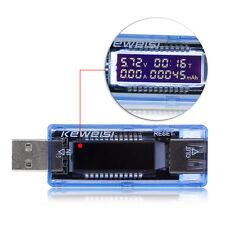 USB Capacity tester TIME Current Voltage Meter Digital LED Voltmeter Amperemeter