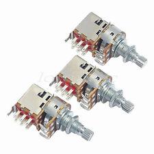 3pcs B500k Push Pull Guitar Control Pot Potentiometer quality gutar parts new