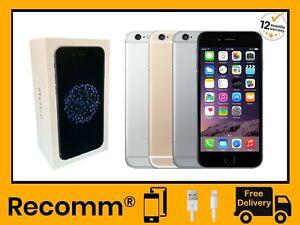 Apple iPhone 6 - Unlocked - 16GB/32GB/64GB - All Colours - Original Box and Case