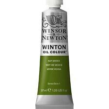 Pintura Al Oleo Winton, Tubo De 37 Ml, Savia Verde