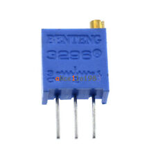100Pcs 3296W-502 3296 W 5K ohm Trim Pot Trimmer Potentiometer Top