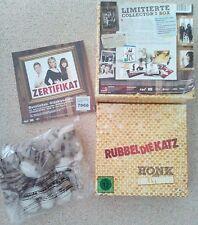 Rubbel die Katz - Limited Collector's Edition; Blu-ray Box; Stofftier, schminkta