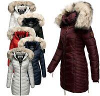 Navahoo Damen Winter Jacke Steppmantel FVS2 Gefüttert Parka Steppjacke Nimalaa