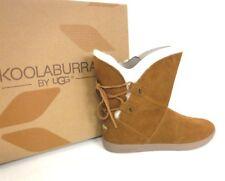Koolaburra by UGG Women's Shazi Short Fashion Boot Chestnut 9M US 5520 *